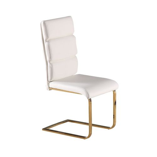 AXECH 109(6)  White Chairs By Denelli (PAIR)